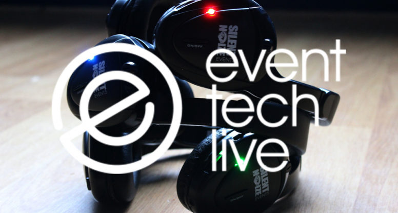 Silent Noize Events exhibits at Event Tech Live.