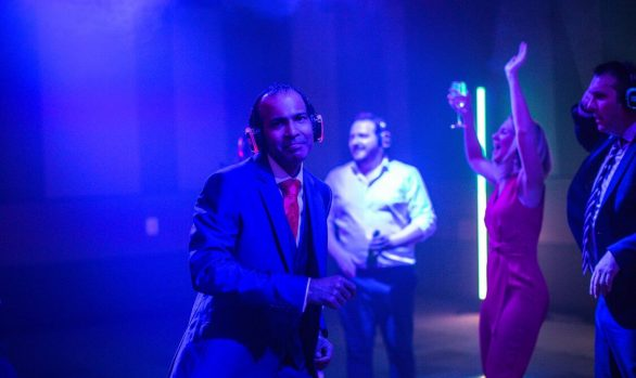 Silent Disco Hire - Costa Express at Vox