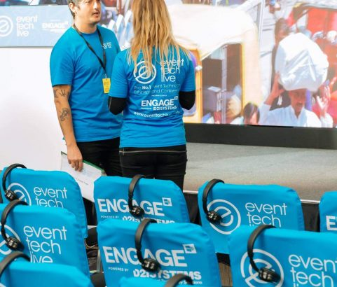 Headsets for Conferences - Event Tech Live 2018