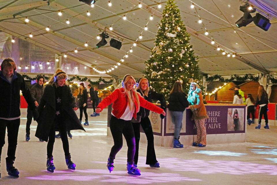 Silent Disco Sessions on Ice