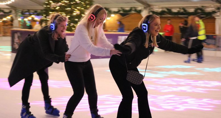 Silent Disco on Ice